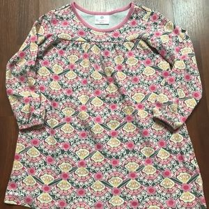 Hanna Andersson Floral Tunic Top